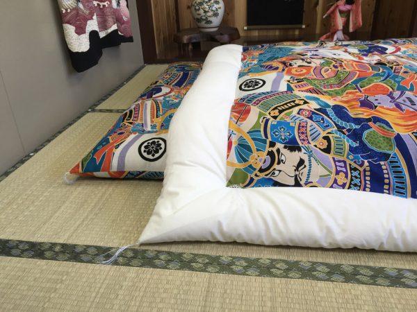 samurai kakebuton futon and duvet