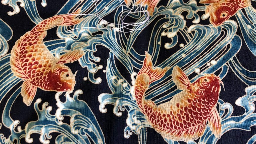 Koi Fish for Futons and Duvets are Back