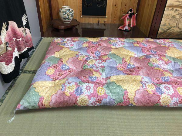 ume pink futon