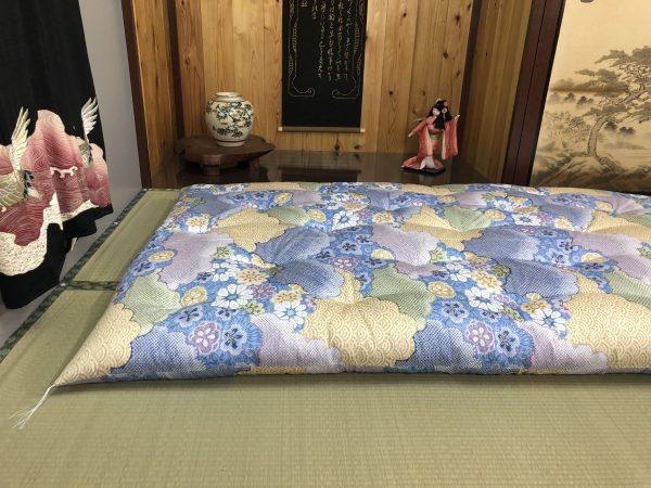 ume blue futon